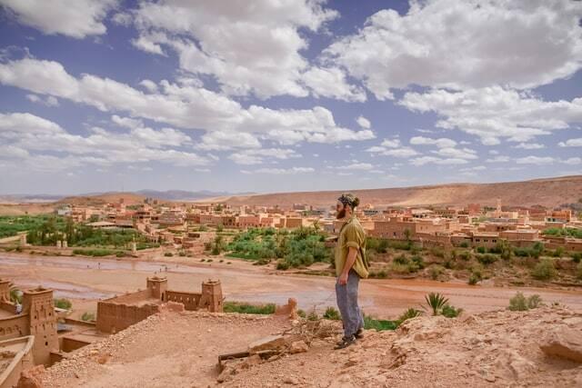 Marrakech verso il deserto