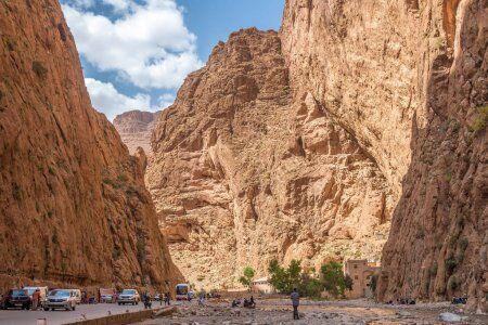 I grandi canyon del todgha, sulla strada per Merzouga con il nostro