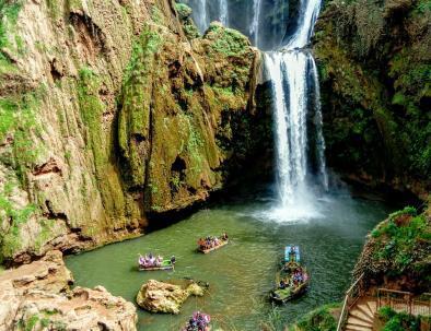 Cascate di Akchour con i nostri tour da Casablanca ed escursioni nel deserto