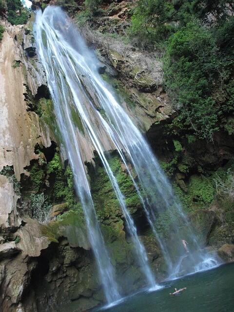 cascate vicino al Marocco con l'escursione di 2 giorni da Fes a chafchaouen