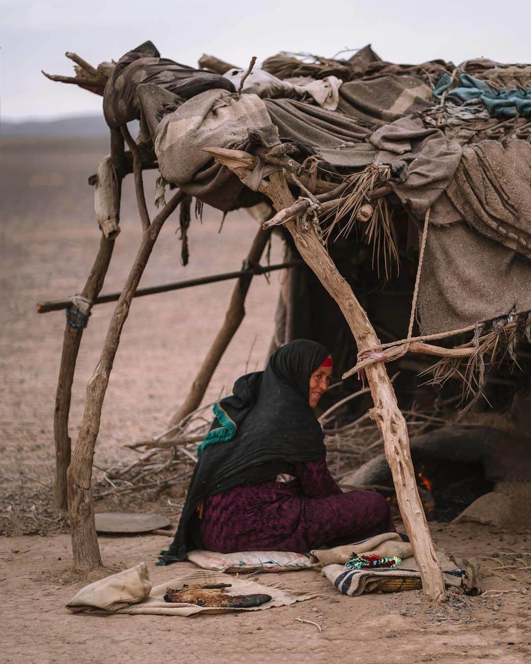 I nomadi berberi in Marocco, visiteremo il durante il nostro viaggio di Una settimana