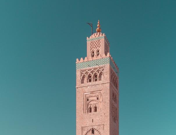 Moschea della Koutoubia in Marocco Marrakech