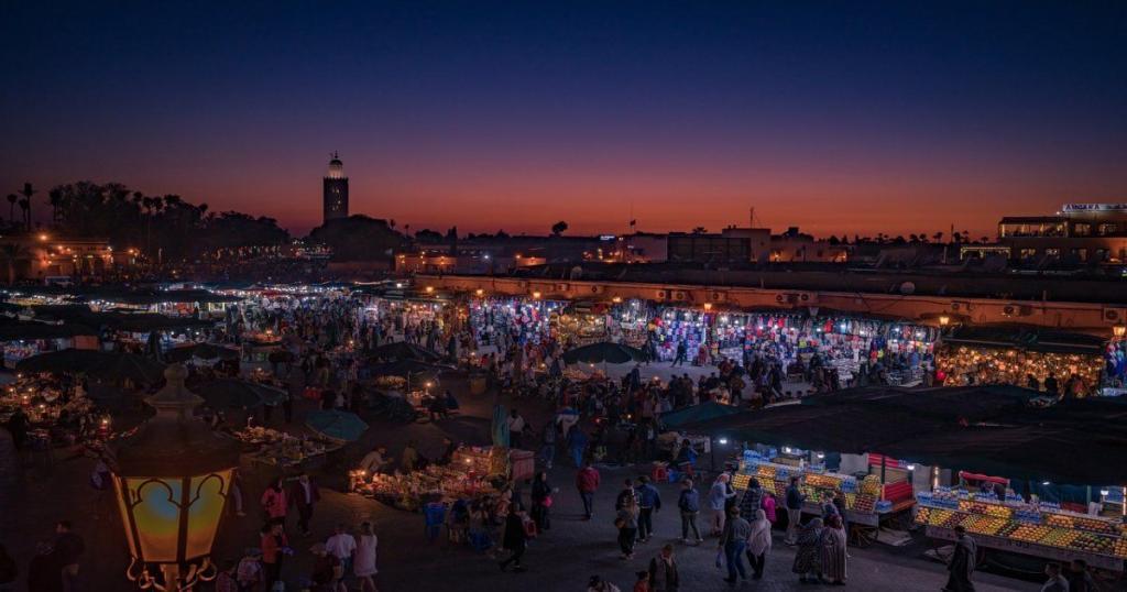 Marrakech attrazioni turistiche del Marocco