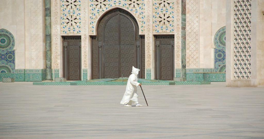 Moschea di Casablanca in Marocco