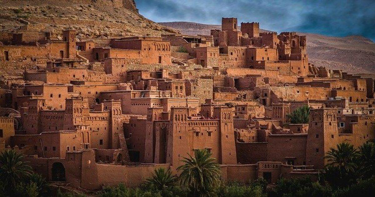 Ait Ben Haddou Kasbah del Marocco