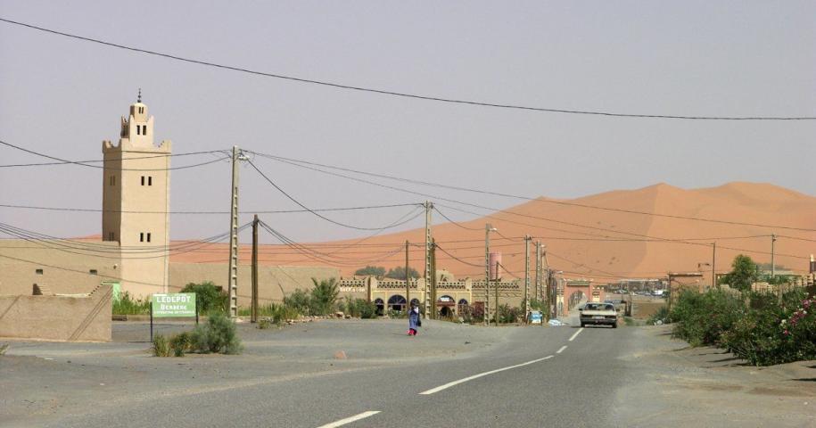 Immagine in primo piano delle cose migliori da fare nel deserto di Merzouga del Marocco