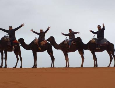 Il deserto di Merzouga, la visiteremo con il nostro tour di 6 giorni da Casablanca
