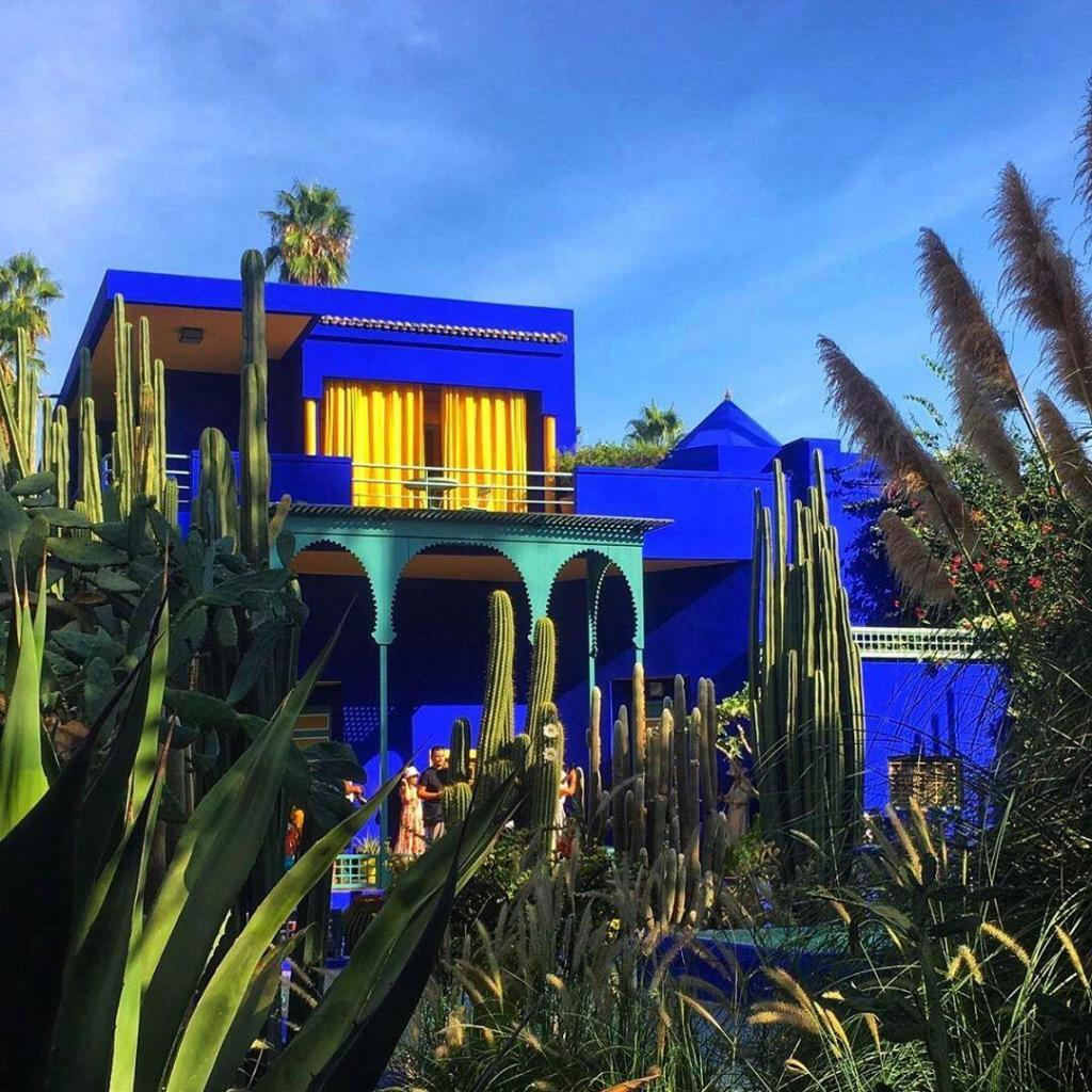 Garden of Majorelle, an attraction we will visit with our 1 week in Morocco travel itinerary
