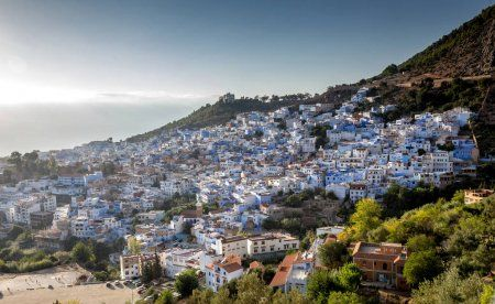 Overview of Chaouen with our Morocco itinerary two weeks in Morocco.