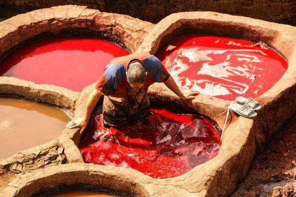 Chouara tannery Morocco 3 day tour from Fes