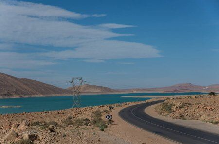 with our itinerary for 2 weeks in Morocco itinerary, we will pass by the dam of errachidia