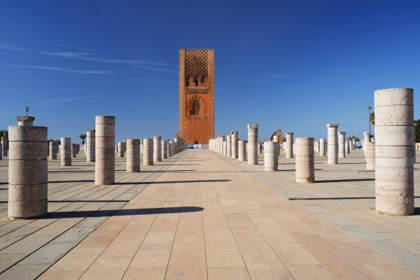 14 days tour itinerary in Morocco from Casablanca across Rabat the capital city