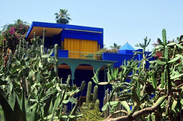Majorelle garden with 3 days Fes to Marrakech desert trip