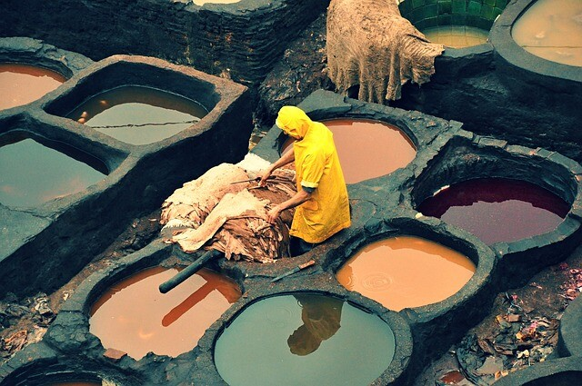Fes tanneries