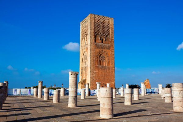 Rabat one of destination you will explore with our 12 days tour itinerary in Morocco from Casablanca