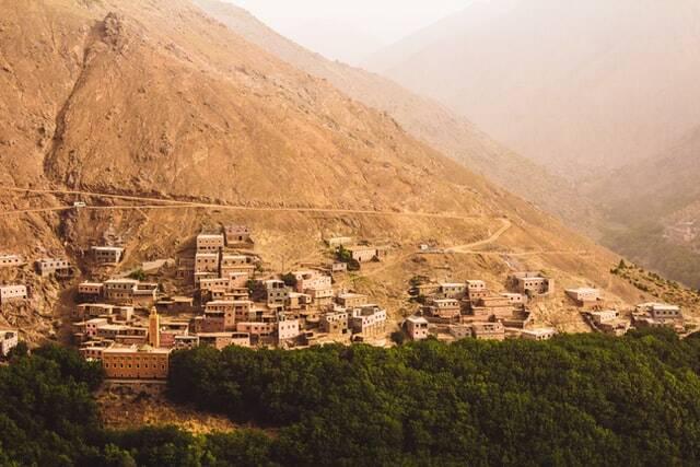 Morocco valleys