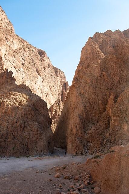 todra canyons