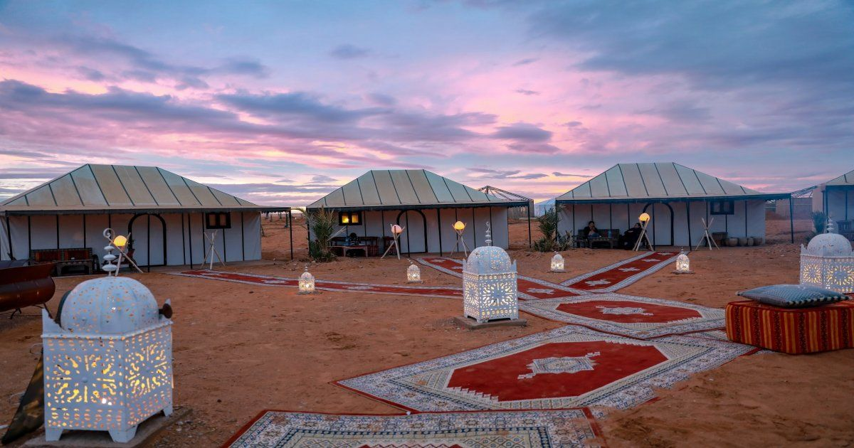 5 days desert tour from Marrakech to Fes.