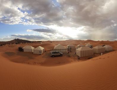 4 days Morocco's camel trekking and Merzouga, Erg Chebbi desert tour