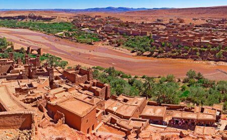 Kasbah Ait ben Haddou with desert tours from Fes
