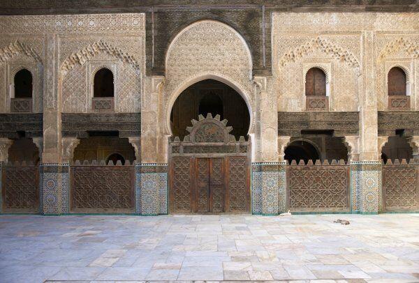Morocco Travel guide to Madrasa bou Inania