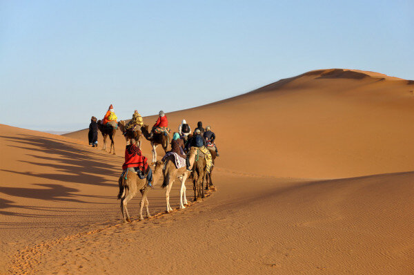 Morocco travel guide to ride camels