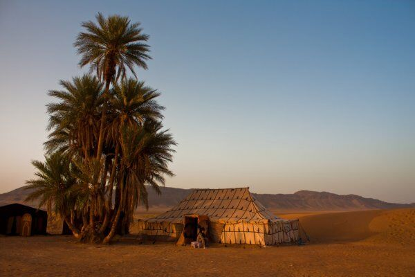 Zagora camp with our Morocco travel guide