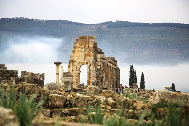 Volubilis with our Fes to Chaouen 2 days tour