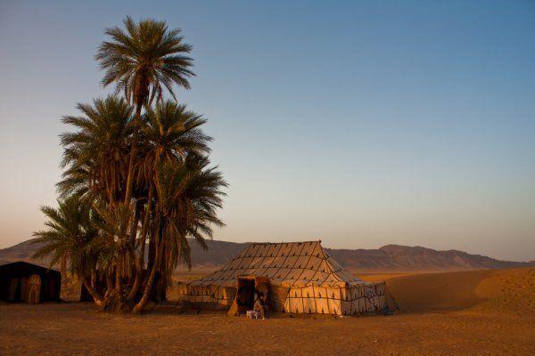 Zagora desert camps