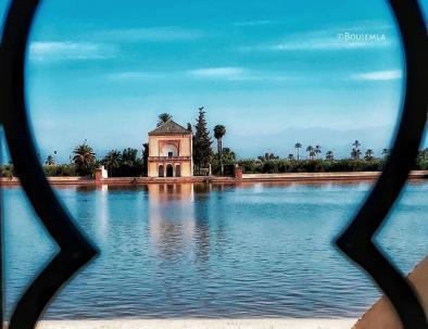 Menara gardens lake