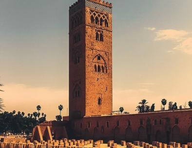 The fascinating mosque of Marrakech, an attraction we will visit with our Casablanca itinerary 8 days in Morocco