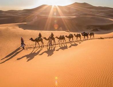 Marrakech trip to fes across the Sahara desert of Merzouga