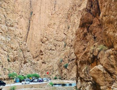 The grand canyons of todgha, an amazing destination to see with our 5 days itinerary in Morocco