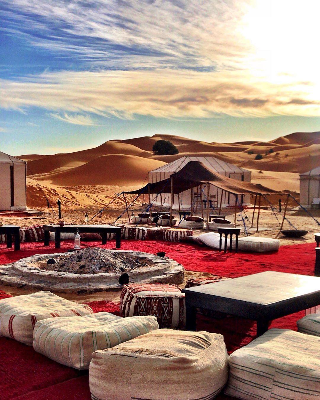 join our 8 days tour in Morocco to spend the night at berber tents