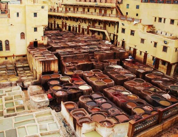 the second city we will head to during our 5 days in Morocco itinerary is fes