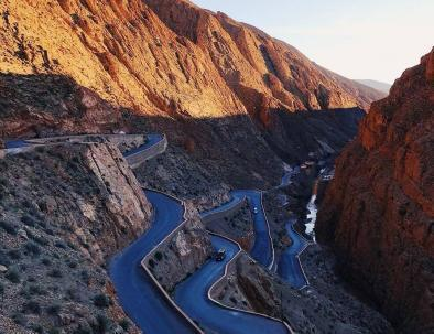 Snake road via 6 days in Morocco trip from Fes to Marrakech via Merzouga desert