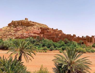 Ait Ben Haddou during Morocco 6 days tour itinerary from Fes to Marrakech