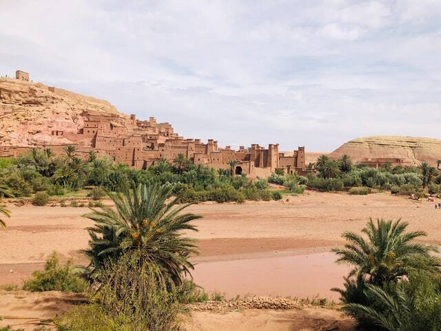 Ait Ben HADDOU kasbah in Morocco