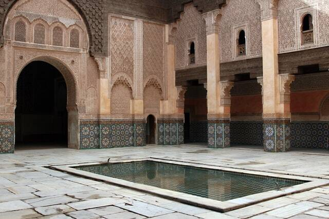 Fes to Marrakech to visit Madrasa architecture