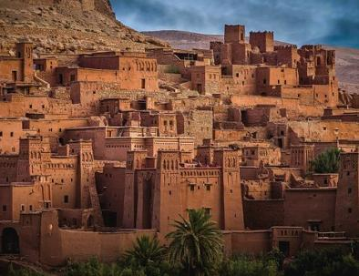 Ait Ben Haddou with 6 days in Morocco trip from Fes to Marrkech via desert