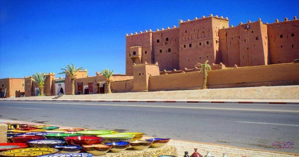 Taourirt Kasbah in Morocco Ouarzazte