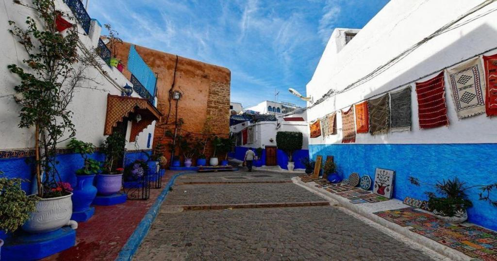 Udayas Kasbah in Morocco Rabat