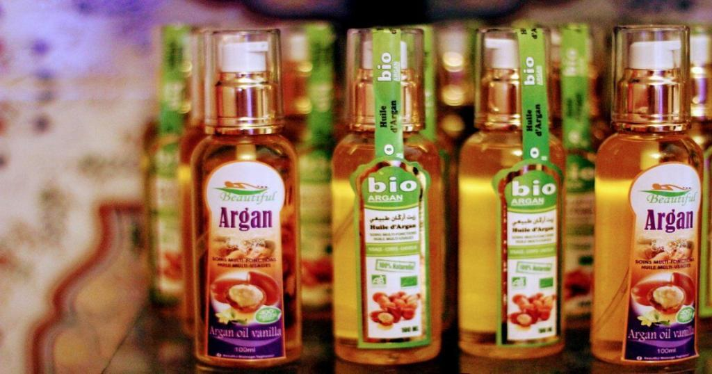 Argan oil products benefits