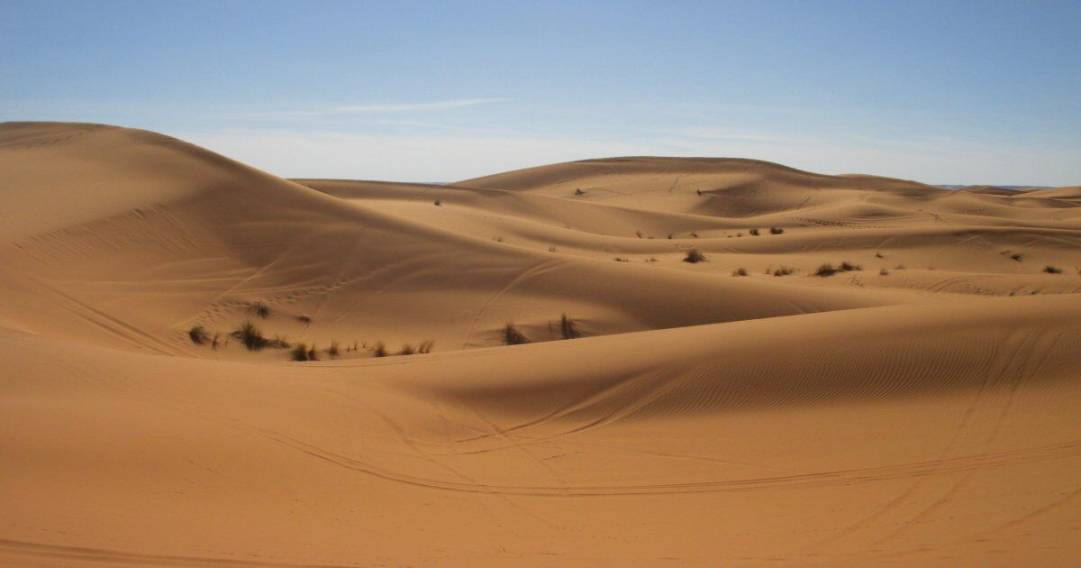 The Sahara desert, the highlight of our 5 days in Moroco itinerrary