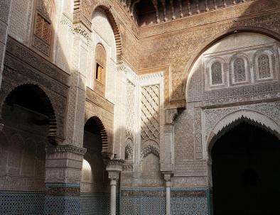 6 days in Morocco tour to architectural buildings in Fes to Marrakech via desert