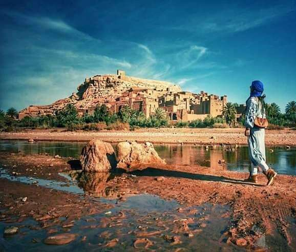 The kashabah of aitbenhaddou