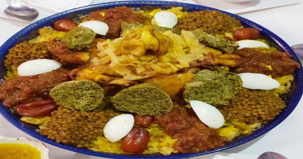 Rfissa, what to eat in Morocco