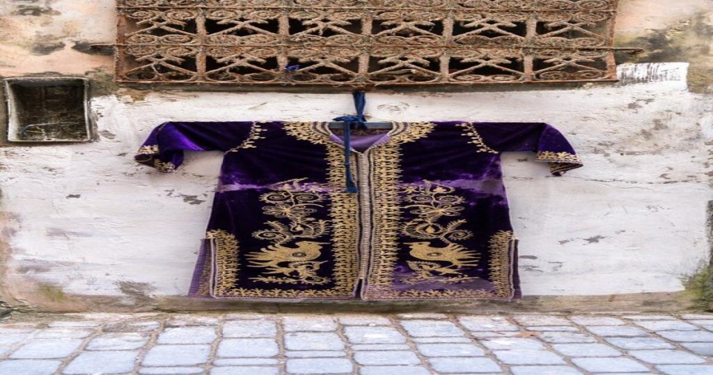 caftan in Morocco