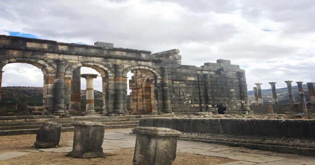 The ancient Volubilis