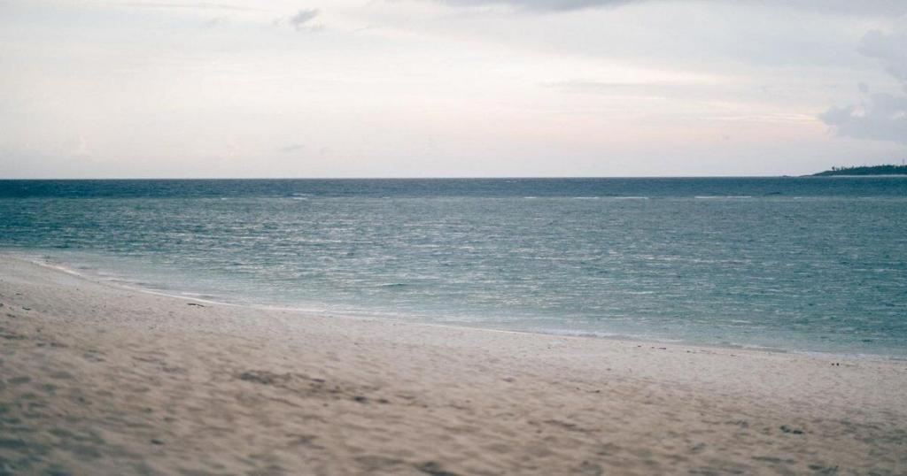 Blanche beach (white beach)